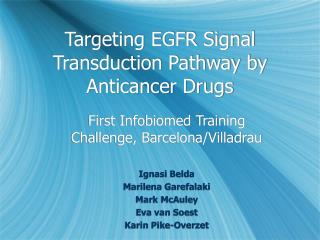 Targeting EGFR Signal Transduction Pathway by Anticancer Drugs