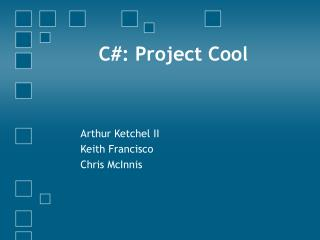 C#: Project Cool