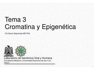 CA Garc�a Sep�lveda MD PhD