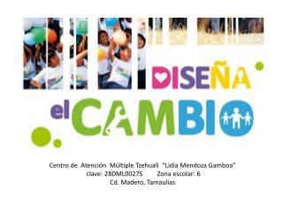 """Centro de   Atención   Múltiple  Tzehuali """"Lidia  Mendoza  Gamboa"""""""