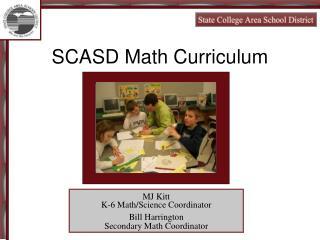 SCASD Math Curriculum