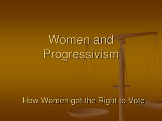 Women and Progressivism