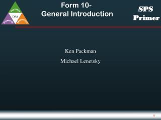 Ken Packman  Michael Lenetsky