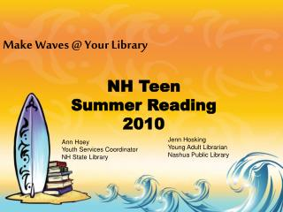 NH Teen  Summer Reading  2010
