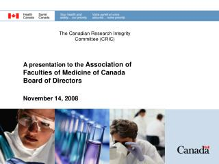 The Canadian Research Integrity Committee (CRIC)