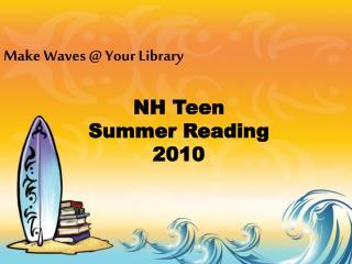 NH Teen  Summer Reading  2010