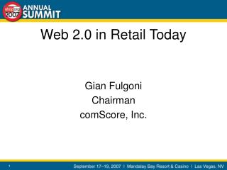 Web 2.0 in Retail Today