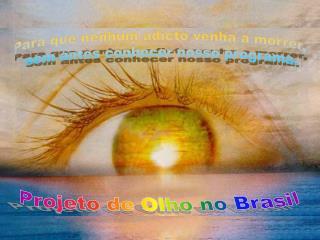 Projeto de Olho no Brasil
