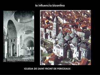 la influencia bizantina