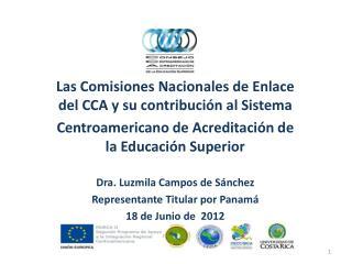 Las Comisiones Nacionales de Enlace del CCA y su  contribución al  Sistema