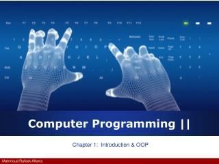 Computer Programming ||