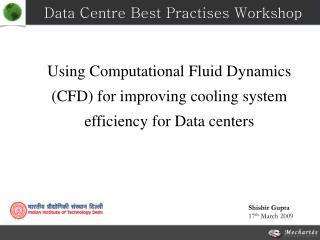 Data Centre Best Practises Workshop