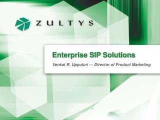 Enterprise SIP Solutions