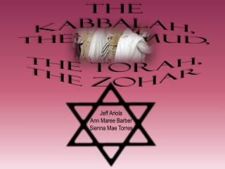 The Kabbalah, The Talmud,  The Torah, The Zohar