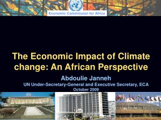 The Economic Impact of Climate change: An African Perspective