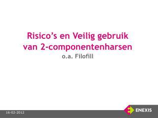 Risico's en Veilig gebruik  van 2-componentenharsen o.a. Filofill