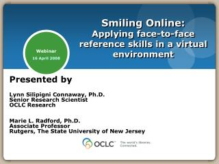 Smiling Online: Applying face-to-face reference skills in a virtual environment