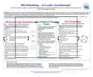 IHI Methodology – Is it really a breakthrough?