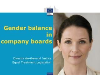 Gender balance  in  company boards