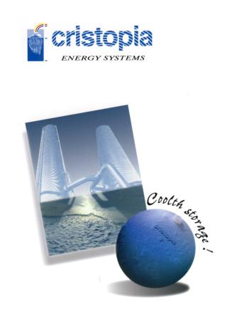 Cristopia (CIAT) - energy savings systems in air conditioning