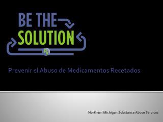 Prevenir  el  Abuso  de  Medicamentos Recetados