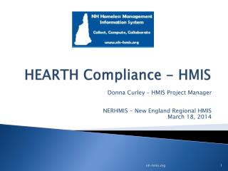 HEARTH Compliance - HMIS