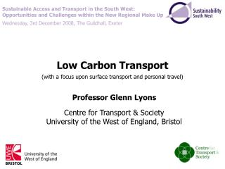 Low Carbon Transport