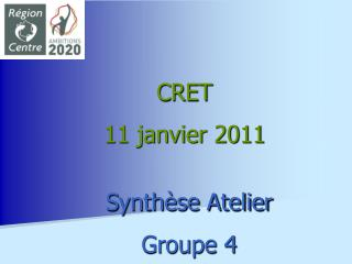 Synthèse Atelier Groupe 4