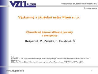 Výzkumný a zkušební ústav Plzeň s.r.o.