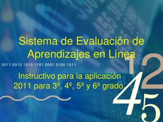 Sistema de Evaluación de Aprendizajes en Línea