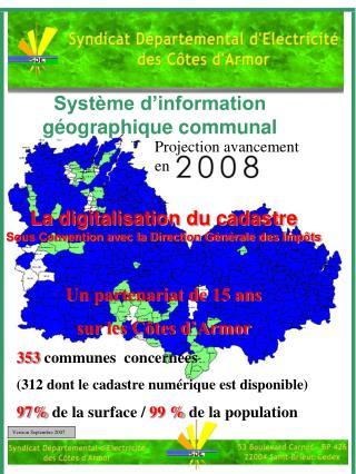 Système d'information géographique communal