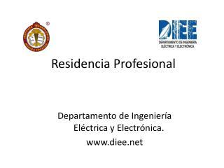 Residencia Profesional