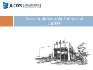 Carteira de Exercício Profissional JUCEES