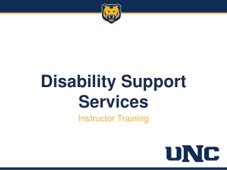 DISABILITY SERVICES:  What YOU Should Know