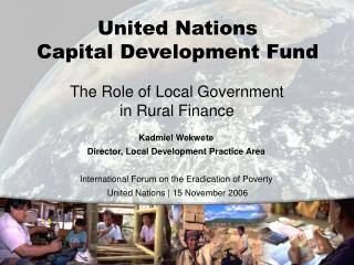 The Role of Local Government in Rural Finance