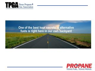 Why is propane essential for Williamson County?