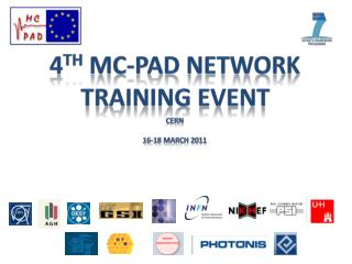 4 th MC-PAD Network Training Event