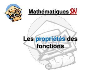 Math�matiques SN