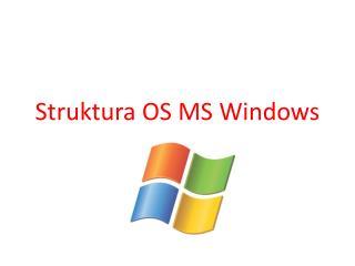 Struktura OS MS Windows