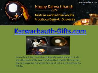 Karwa Chauth Gifts for Husband & Wife