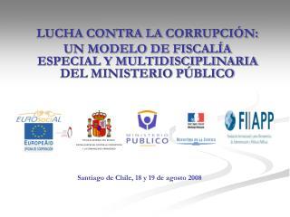 LUCHA CONTRA LA  CORRUPCIÓN: