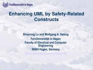 Enhancing UML by Safety-Related Constructs