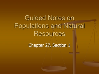 Chapter 27 Section 1
