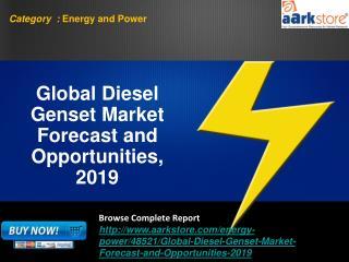 Aarkstore.com - Global Diesel Genset Market