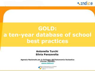 GOLD: a ten-year database of school best practices