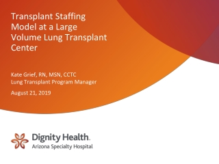 Anesthesia for Heart Transplant