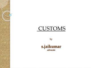 by s.jaikumar advocate