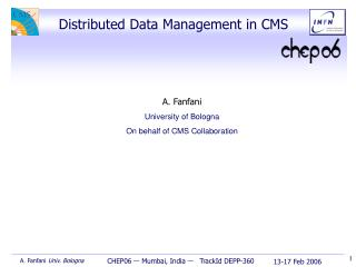 Distributed Data Management in CMS