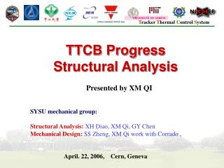 TTCB Progress Structural Analysis