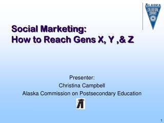 Social Marketing: How to Reach Gens X, Y ,& Z